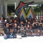 Miami Marlins On-Field Ceremony 2015